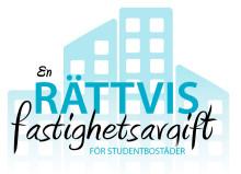 Skriv på FÖR en ändrad fastighetsavgift för studentbostäder