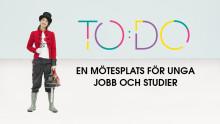 Inbjudan till pressträff: TO:DO - en mötesplats för unga jobb och studier