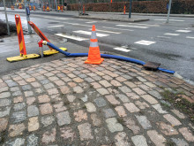 Felsökning pågår i ledningsnätet i Lund