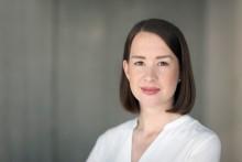 Linda Jonsson, ny politiskt sakkunnig för Moderaterna i civilutskottet