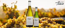 Ny modern vit fatlagrad Rioja på hel- och halvflaska på Systembolaget.