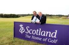 Scotland celebrates a golfing year to remember