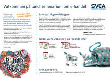 Lunchseminarium e-handel