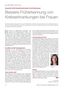 oncgnostics im VentureCapital Magazin
