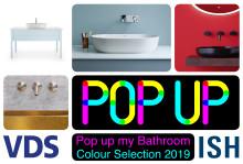 Pop up my Bathroom zeigt auf der ISH 2019 eine Colour Selection