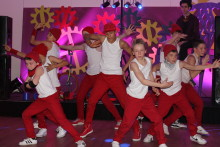 Coventry Kombat Breakers entertain at special party