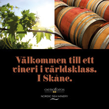 Välkommen till ett vineri i världsklass - Nordic Sea Winery i Simrishamn
