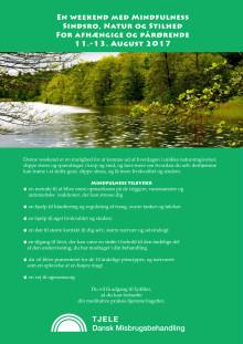 Weekend med Mindfulness Sindsro, Natur  og Stilhed