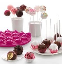 Överraska med superfina och lite annorlunda bakelser gjorda med formen för Cakepops