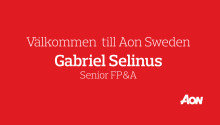 Aon Sweden rekryterar Gabriel Selinus