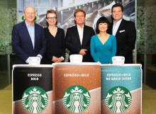 Starbucks udvider strategisk partnerskab med Arla Foods for drikkeklare produkter (RTD)