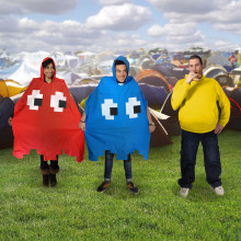 Pac-Man regnslag, perfekt til efterårsvejret!