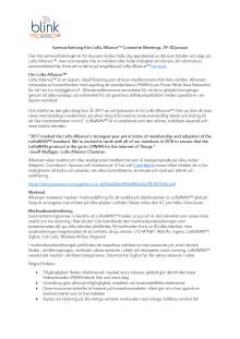 Sammanfattning LoRa Alliance™ Committe Meetings Amsterdam