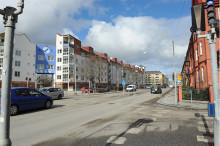 Pressinbjudan: Trädgårdsgatan öppnas och Alnängsgatan stängs 28 augusti