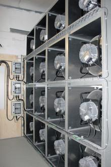 Så moderniserar flexibla fläktväggar Sveriges ventilationssystem