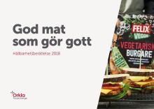 Orkla Foods Sverige får fler att äta mer grönt och mindre socker