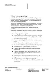 Faktaunderlag Arbetsmarknadsutbildning med integrerad sfi