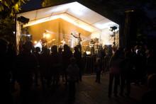 Den Skaraborgska musikskatten presenterar sig på Matfestivalens scen