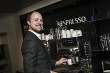Nespresso stiller sterkt på SMAK-messen