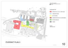 Fastighetsutvecklingsplan Skellefteå lasarett översikt plan 3