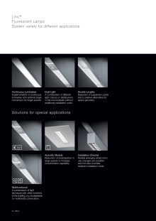 Broschyr Fox Design Wila Linic ® - belysningssystem. 16 sidor.