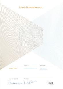 Innovationspris till Nortons diamantklinga 4x4 Explorer+ - Diplom