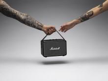 Marshall reinvents Blumlein stereo sound in the updated Killburn II portable speaker