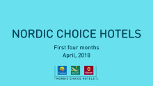 Första tertialrapport Nordic Choice Hotels 2018.