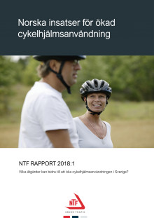 NTF Rapport 2018:1 Norska insatser för ökad cykelhjälmsanvändning