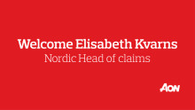 Elisabeth Kvarns - New Nordic Head of Claims