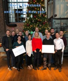 From the Nordic team to all of you, a Merry Christmas and a happy new year. We look forward to an interesting 2018 and fruitful collaborations!