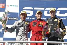 Topptrio på poängjakt i Formel Renault 1,6