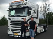 Ny Scania til Jimmi Bjerregaard Rasmussen