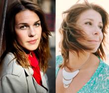 Vivian Buczek och Isabella Lundgren  hyllar jazzens kvinnor