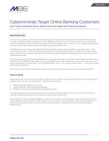 M86 Security avslöjar hur Zeus Trojanen riktar in sig på brittiska banker