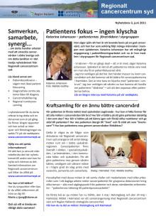 Nyhetsbrev 3 - Patientens fokus – ingen klyscha