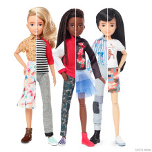 Mattel® veröffentlicht die erste geschlechtsneutrale Puppenlinie, die alle Kinder zum Spielen einlädt