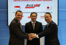 SMRT Subsidiary Singapore Rail Engineering and Toshiba Establish JV to Market and Supply Energy Efficient Propulsions System to Mass Transit Operators Globally