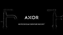 Nyheter från AXOR presenteras på Stockholm Furniture Fair