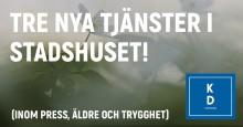 Kristdemokraterna i Stockholms stadshus söker tre nya medarbetare