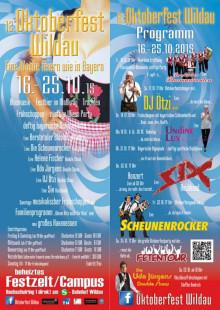 12. Oktoberfest vom 16. bis 25. Oktober 2015 auf dem Campus der Technischen Hochschule Wildau