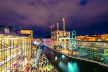 Adventshelg i Norrköping med juleljus och ljuspromenad