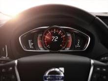 Helt nya Volvo V40 - Volvo Sensus: Nya, personligt utformade instrument
