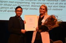 Beiersdorf är Årets leverantör 2017 hos Apoteksgruppen