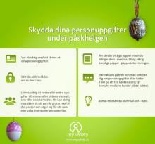 Skydda dina personuppgifter under påskhelgen