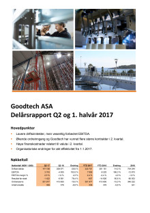 Kvartalsrapport Q2 2017