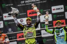 モトクロス世界選手権 MXGP Rd.02 3月5日 インドネシア