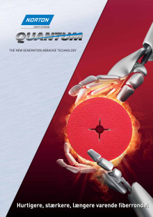 Ny fiberrondel til krævende slibning. Brochure