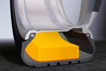 Lanserer piggdekk med vesentlig lavere støynivå