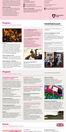 Stadsmuseet och Medeltidsmuseet sommar 2017